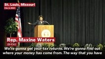 'We Are Going To Get Your Tax Returns': Rep. Maxine Waters Lashes Trump In Speech Commemorating MLK Jr.