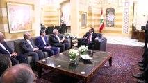 İran Dışişleri Bakanı Zarif - Lübnan Başbakanı Hariri - BEYRUT