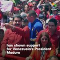 Roger Waters Supports Maduro