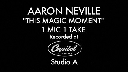 Aaron Neville - This Magic Moment