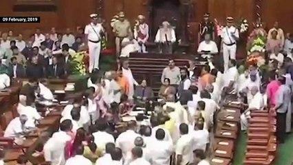 Political mudslinging overshadows Karnataka budget