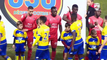 Le résumé de AS Béziers-FCSM (0-0)