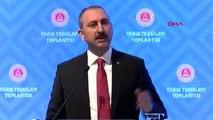 Antalya - Adalet Bakanı Abdulhamit Gül, Yargı Teşkilatı Toplantısında Konuştu-2