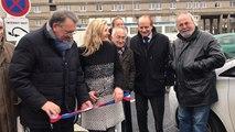 Inauguration de la borne de recharge rapide