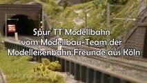 Spur TT Modellbahn vom Modellbau-Team der Modelleisenbahn Freunde aus Köln - Ein Film von Pennula zum Thema Modellbau und Eisenbahn