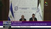 El Salvador: Gobierno destaca logros en materia de inversión pública