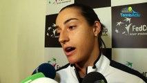 "Fed Cup 2019 - Caroline Garcia : ""Si dimanche, je dois jouer, je serai prête"""