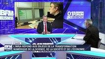 """Vincent Roca: """"L'ordinateur quantique est une menace pour une partie des techniques de chiffrement actuelement utilisée"""" - 09/02"""