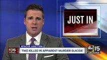Two dead in murder-suicide