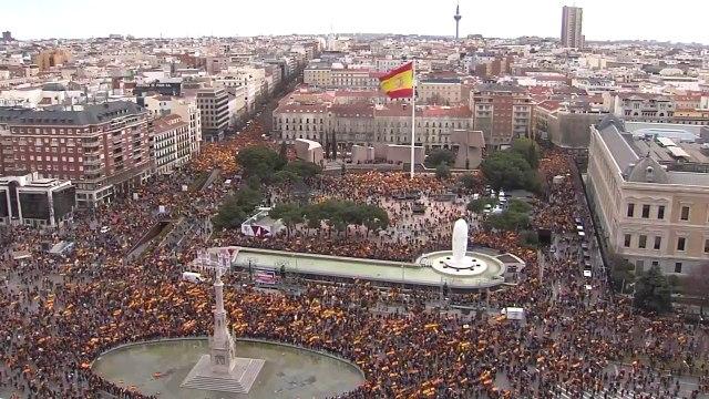 #YOVOY Manifestación en la Plaza de Colón (2)