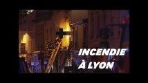 Les images de l'incendie à Lyon qui a fait au moins 2 morts