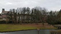 Tempête Isaias : ça souffle au parc des Baudières à Bourg-en-Bresse