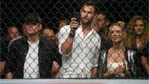 'Avengers' Star Chris Hemsworth Seen With Matt Damon At UFC Fight