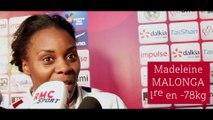"""Grand Chelem de Paris 2019 - Madeleine Malonga : """"Pas une fin en soi"""""""
