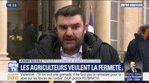 """Le président du syndicat des Jeunes Agriculteurs sur les États généraux de l'alimentation: """"Nous avons demandé au Président d'être très ferme"""""""