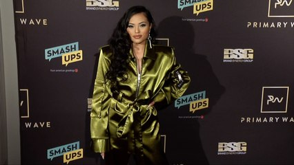 Mimi Saballa 2019 Primary Wave Grammy Party Red Carpet