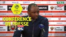 Conférence de presse OGC Nice - Olympique Lyonnais (1-0) : Patrick VIEIRA (OGCN) - Bruno GENESIO (OL) / 2018-19