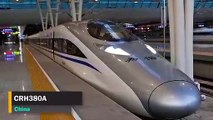 Top 5 Fastest Trains in The World 2019  Amazing Compilation of the High speed Trains 2019