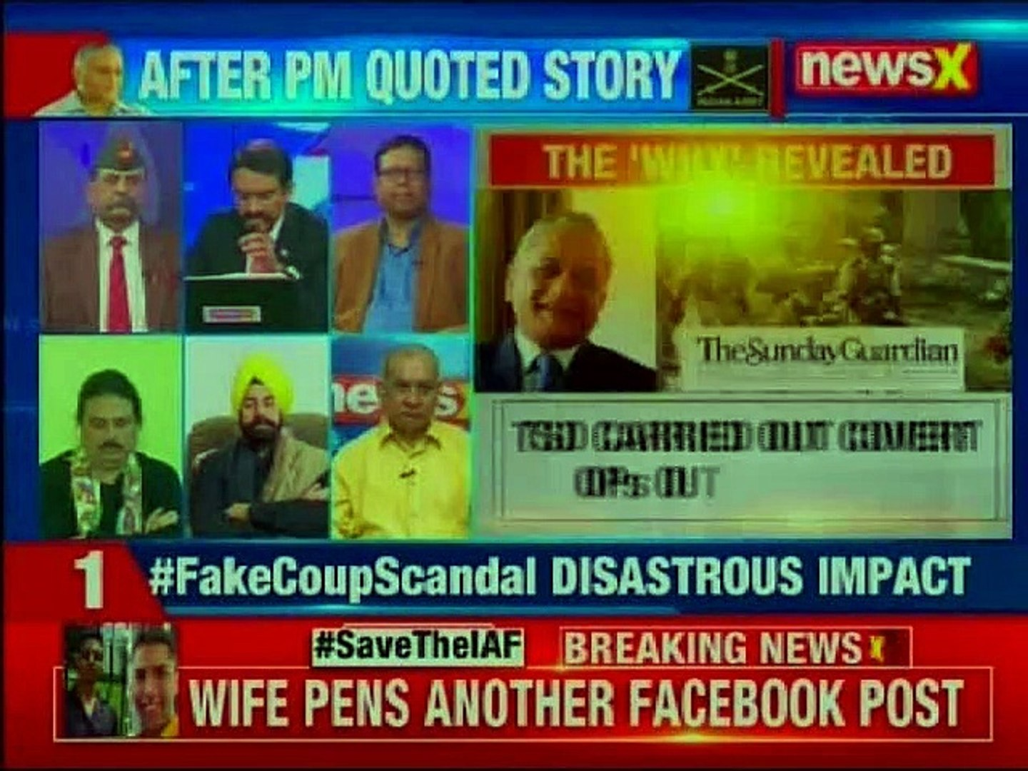 Fake Coup Scandal: The full story is out; ego trumped war on terror?   Nation at 9