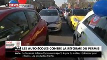 Auto-écoles :  Une opération escargot en cours sur le périphérique parisien à l'appel des syndicats