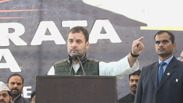 PM Modi has no credibility left: Rahul Gandhi at Naidu's strike