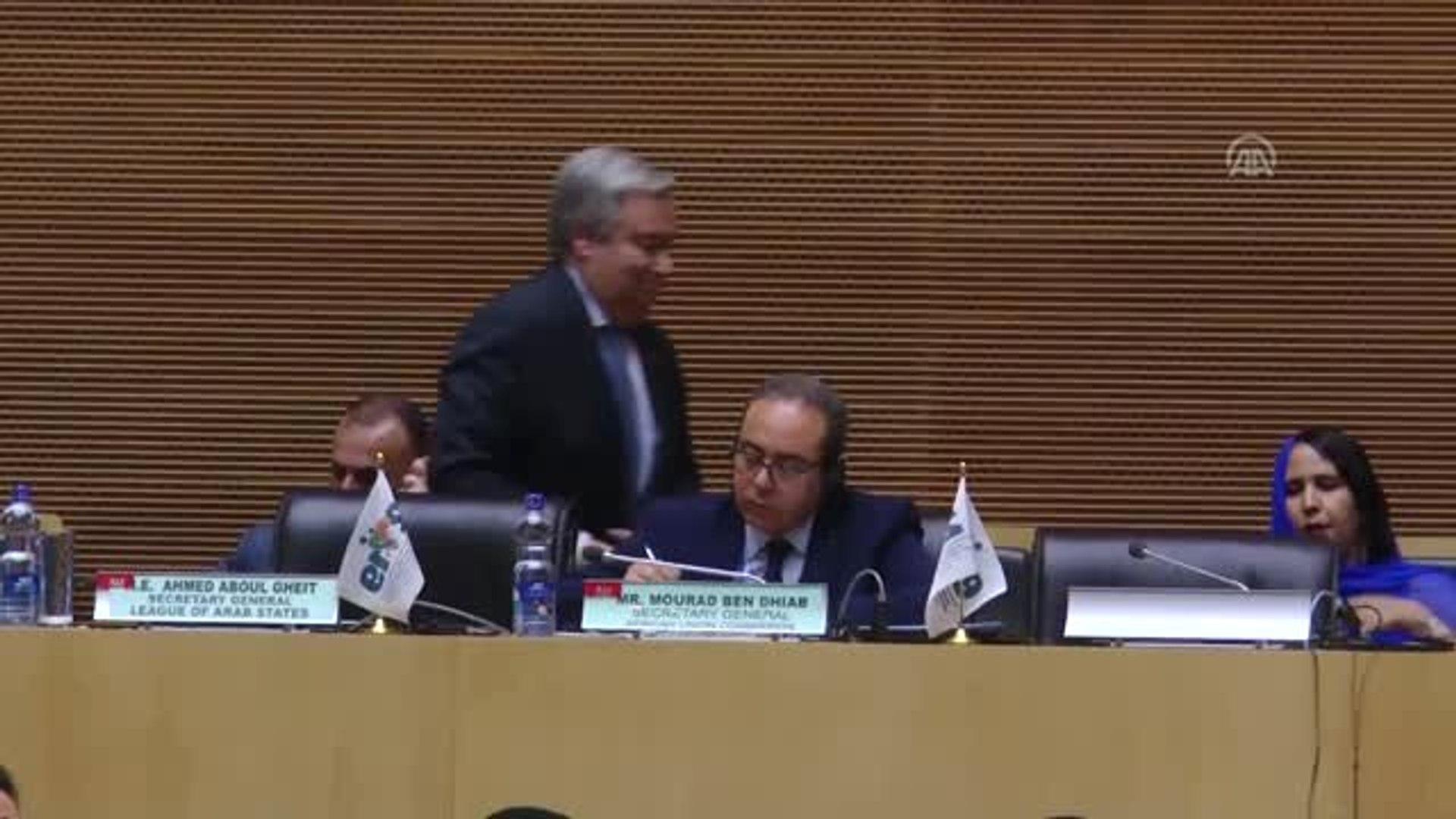 Guterres Mültecilere Kapılarını Kapatanlara Afrika'yı Hatırlattı - Addis Ababa
