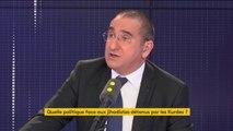 """Rapatriement des jihadistes français en Syrie: """"Le chiffre de 150 jihadistes est totalement, mais totalement, exagéré"""", estime Laurent Nuñez, secrétaire d'État auprès du ministère de l'Intérieur"""