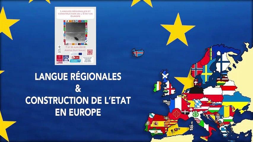 « Langues régionales et/ou minoritaires : une confusion terminologique porteuse de sens ? », Jordane Alettaz, Professeur de droit public à l'université de Montpellier