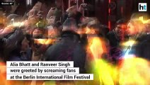 Screaming fans greet 'Gully Boy's' Ranveer & Alia at the Berlin International Film Festival