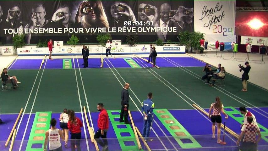 Qualifications 1 du tir en relais, première Coupe du Monde Mixte de tirs sportifs, Saint-Vulbas 2019