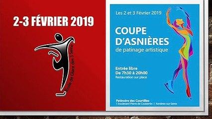 Emma Maubrey à Asnières le  2 Février 2019