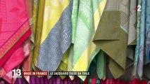 """Vosges : le jacquard, un savoir-faire """"made in France"""""""