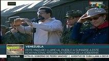 Nicolás Maduro pide a venezolanos cerrar filas en defensa del país