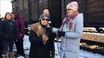 Ginette Kolinka raconte son  arrivée au camp d'Auschwitz