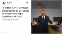 Xavier Bertrand élu personnalité politique de l'année et Marlène Schiappa nommée révélation