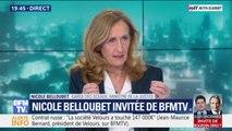 """Nicole Belloubet sur la loi """"anti-casseurs"""": """"Il faut à la fois préserver la liberté de manifester et assurer la sécurité de nos concitoyens"""""""