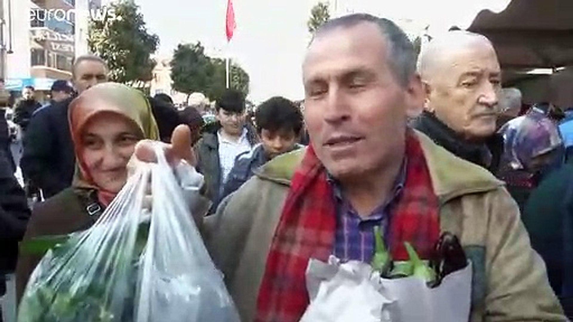 Турция: овощи и фрукты за полцены