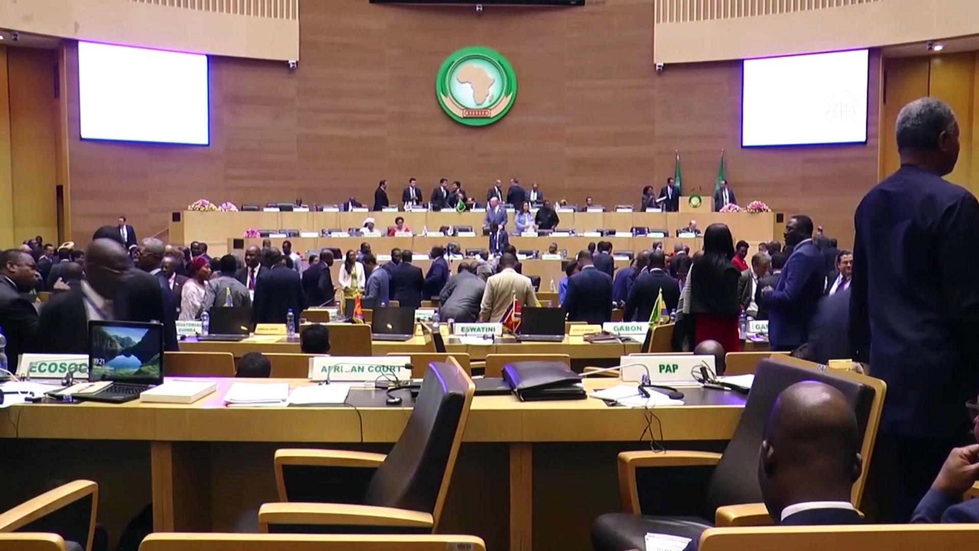 Sisi: 'İyi yönetişimi destekliyoruz' (1) - ADDİS ABABA