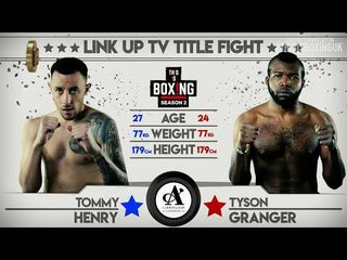 *LINK UP TV TITLE FIGHT* THIS IS BOXING SEASON 2 - Henry Vs Granger