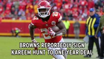 Browns Give Kareem Hunt Second Chance