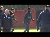 Manchester United Training Ahead Of Match Against PSG In Champions League
