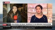 Issy-les-Moulineaux - Accident spectaculaire de tramway hier soir avec une collision entre 2 rames : 12 blessés dont un grave