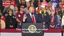 Donald Trump Criticizes Alexandria Ocasio-Cortez's Green New Deal As A 'High School Term Paper'
