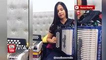 Sin Pijama - Becky G, Natti Natasha - ( Cover Acordeon ) - Masilena Ovalle