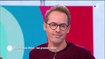 C'est au programme : Alain-Fabien Delon tendu sur le sujet de l'héritage paternel-12fev2019