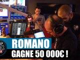 Romano gagne 50 000¤ aux jeux à gratter ! #LaRadioLibreDeDifool