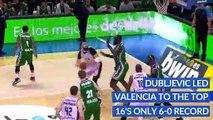 7DAYS EuroCup Top 16 MVP: Bojan Dubljevic, Valencia Basket