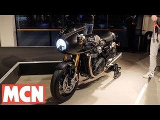 Triumph Thruxton TFC launch and Rocket TFC concept | MCN | Motorcyclenews.com