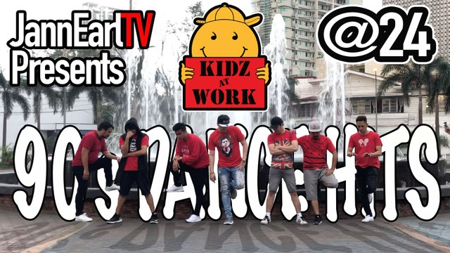 90's Dance Hits - Kidz At Work @24