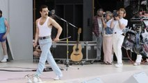 Go Behind the Scenes of the 'Bohemian Rhapsody' Live Aid Performance With Rami Malek
